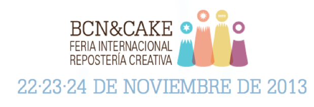 Montaje de Cartel BCN and CAKE 2013
